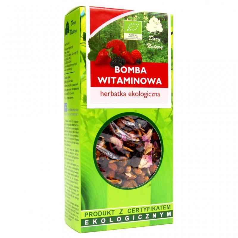 Ekologiczna herbata BOMBA WITAMINOWA sypana 100g Dary Natury