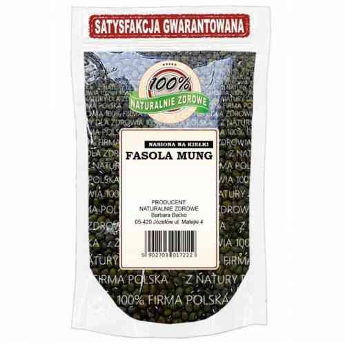 FASOLA MUNG nasiona na kiełki 250g Naturalnie Zdrowe