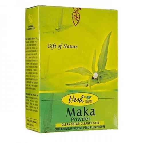 Maka (Bhringraj) w proszku - maska do włosów 50g Hesh