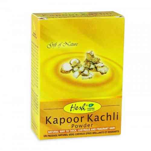 Kapoor Kachli w proszku - maska do włosów 50g Hesh