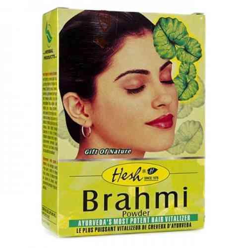 Brahmi w proszku - maska do włosów 100g Hesh