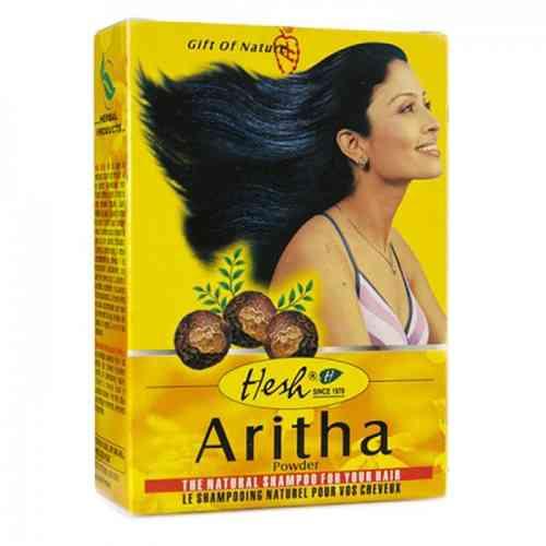 Aritha w proszku - naturalny szampon 100g Hesh