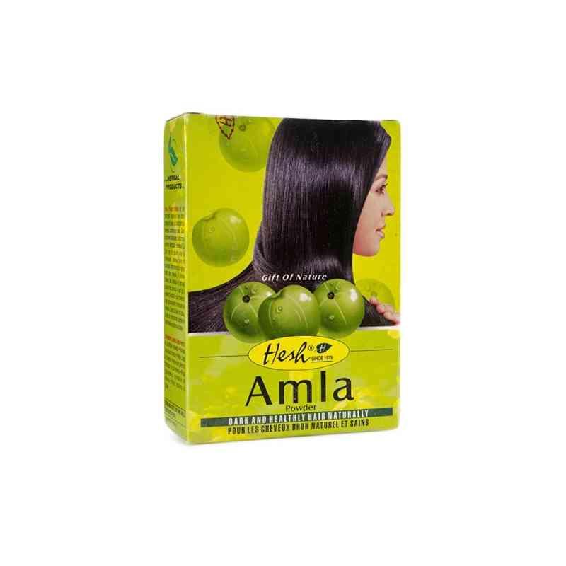 Amla w proszku - odżywka do włosów 100g Hesh