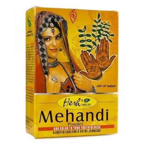 Henna do farbowania włosów i zdobienia ciała MEHANDI 100g Hesh
