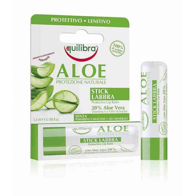 Aloesowy sztyft do ust 5,5 ml Equilibra