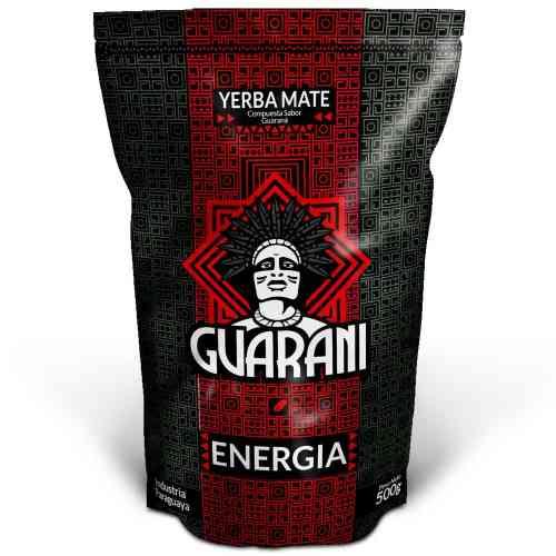 Yerba Mate ENERGIA con Guarana 500g Guarani
