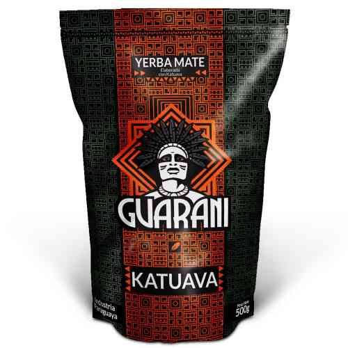 Yerba Mate KATUAVA korzenno-ziołowa 500g Guarani