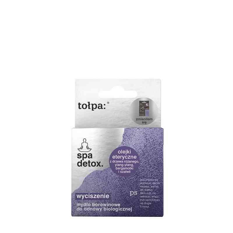 Detoksykujące mydło borowinowe do odnowy biologicznej 100 g Tołpa spa bio, anti - stress
