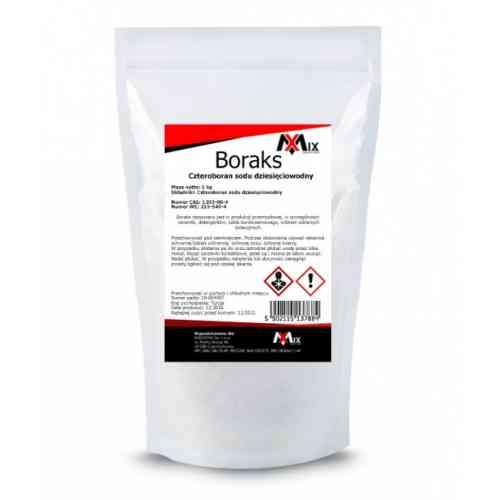 Boraks BORAX Czteroboran sodu 10-WODNY 1kg