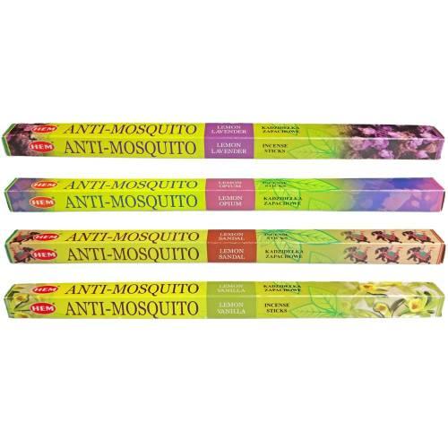 Kadzidła ANTI-MOSQUITO mix na komary 32 szt. HEM