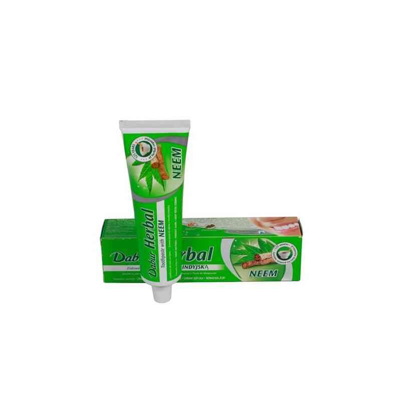 Ziołowa pasta do zębów z Neem 100ml Dabur