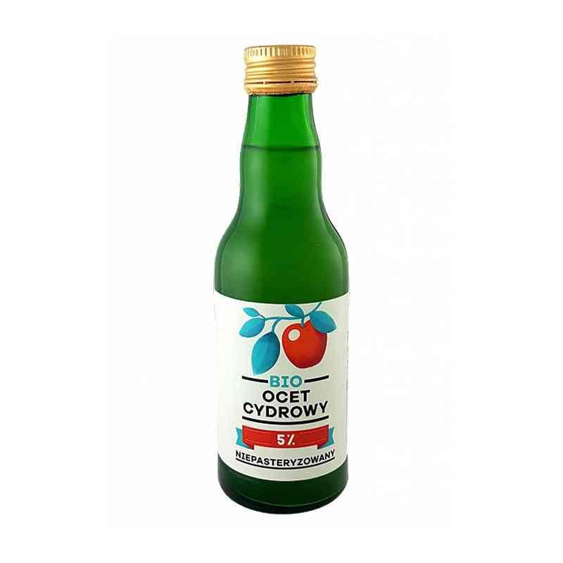 Ocet cydrowy ekologiczny (jabłkowy) 200 ml
