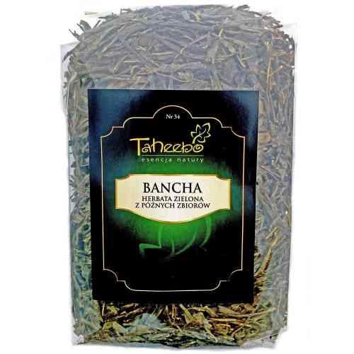 Herbata zielona z późnych zbiorów BANCHA 200g Taheebo