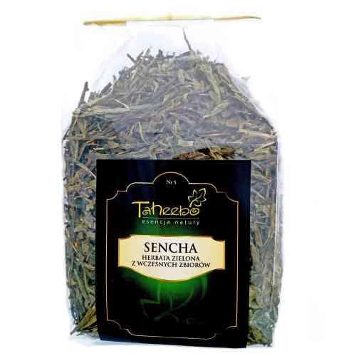 Herbata zielona ze wczesnych zbiorów SENCHA 200g Taheebo