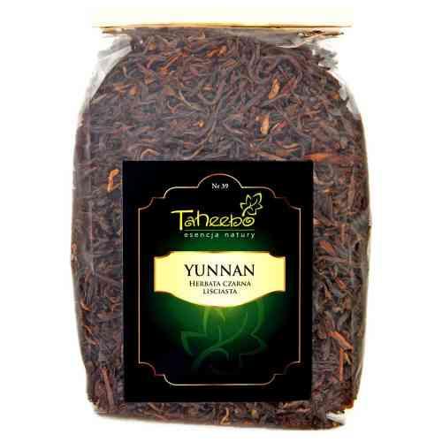 Herbata czarna liściasta YUNNAN 250g Taheebo