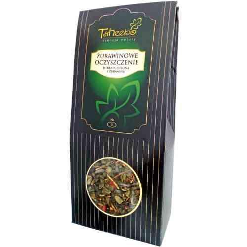 Herbata zielona ŻURAWINOWE OCZYSZCZENIE 75g Taheebo