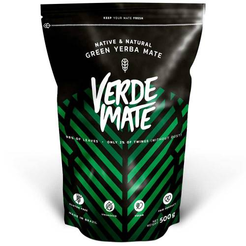 Zielona Yerba Mate Despalada 500g Verde Mate