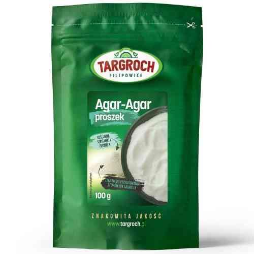 Agar-Agar roślinna żelatyna 100g Targroch
