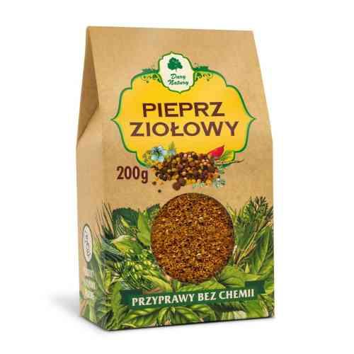 Pieprz ziołowy 200 g, Dary Natury