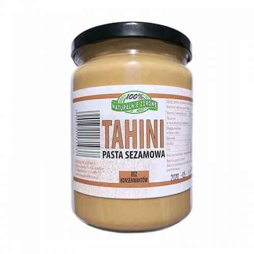 Pasta sezamowa TAHINI 500g Naturalnie Zdrowe