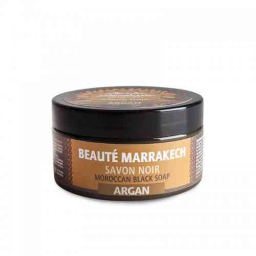 Czarne mydło Savon Noir ARGANOWE 100g Beaute Marrakech