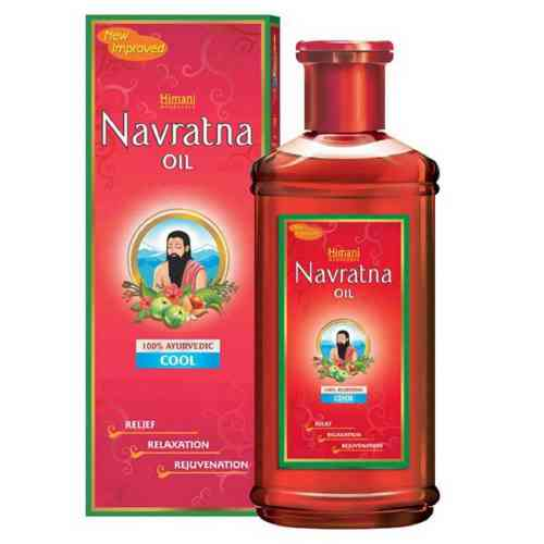 Olejek do masażu, włosów i ciała NAVRATNA 300ml Himani