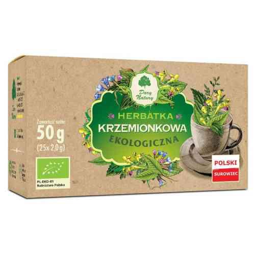 Ekologiczna herbata KRZEMIONKOWA fix 25x2g Dary Natury