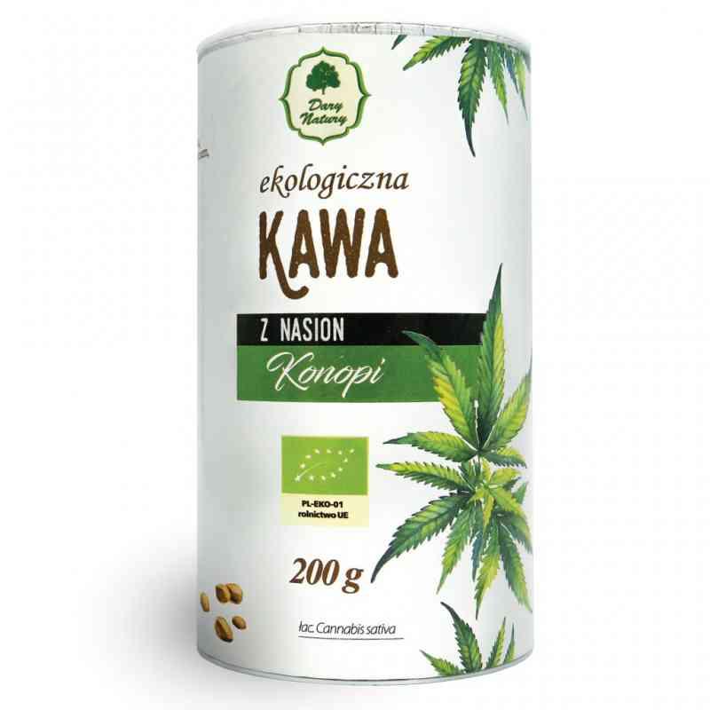 Ekologiczna kawa z nasion KONOPII 200g Dary Natury