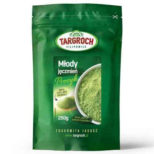 Młody zielony JĘCZMIEŃ mielony 250g Targroch