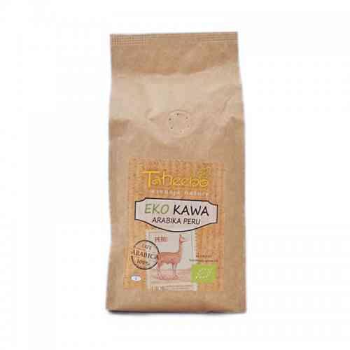 Ekologiczna kawa ziarnista Arabica PERU 250g Taheebo