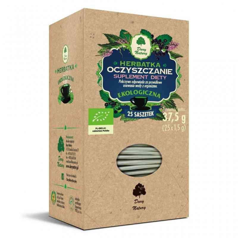 Ekologiczna herbata OCZYSZCZENIE fix 25x1,5g Dary Natury