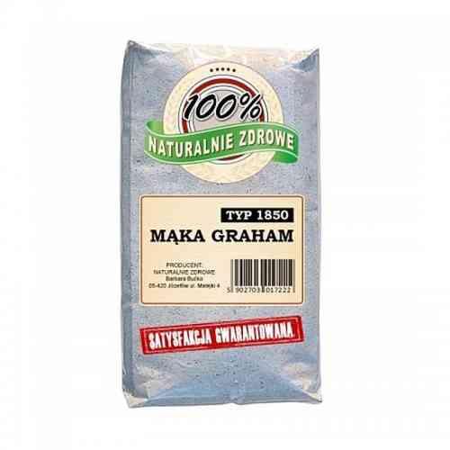Mąka GRAHAM typ 1850 1kg Naturalnie Zdrowe