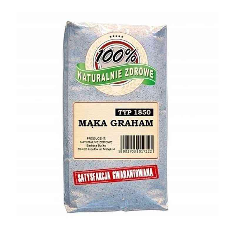 Mąka Graham typ 1850 1 kg, Naturalnie Zdrowe