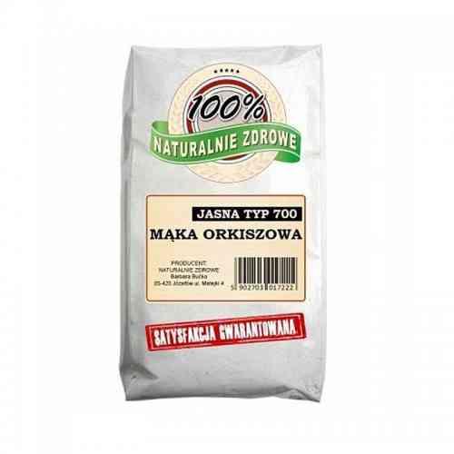 Mąka ORKISZOWA jasna typ 700 1kg Naturalnie Zdrowe