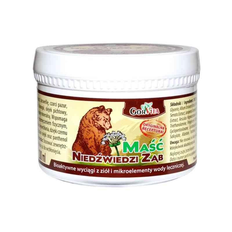 Maść Niedźwiedzi Ząb 200 ml Gorvita