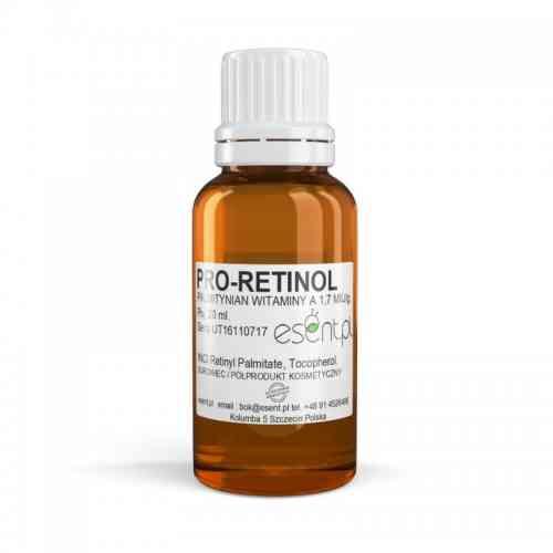 PRO-RETINOL palmitynian witaminy A 20ml 1.7 m. IU/g Esent