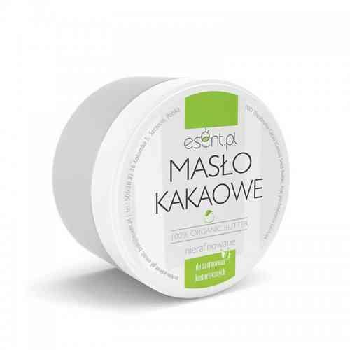 Masło KAKAOWE 100% organiczne 200ml Esent