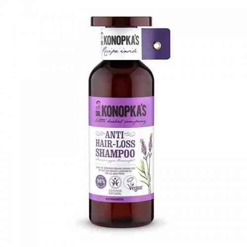 Naturalny szampon przeciw wypadaniu włosów 500ml Dr. Konopka's