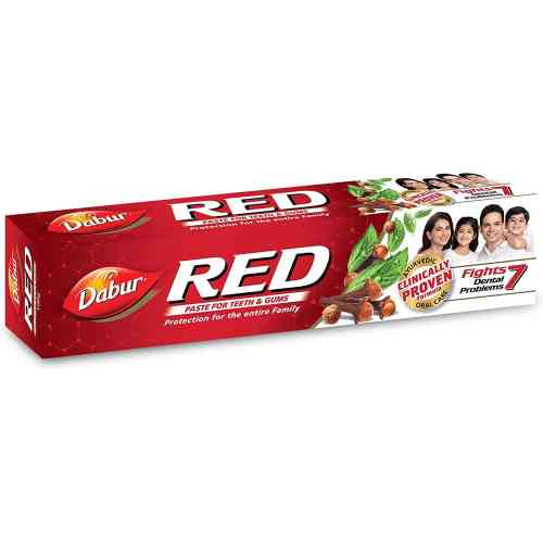 Ostra pasta do zębów RED 100g + 20g gratis Dabur