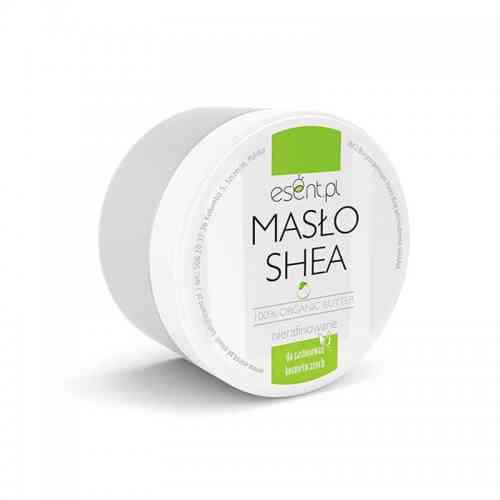 Masło SHEA nierafinowane, organic 200ml Esent