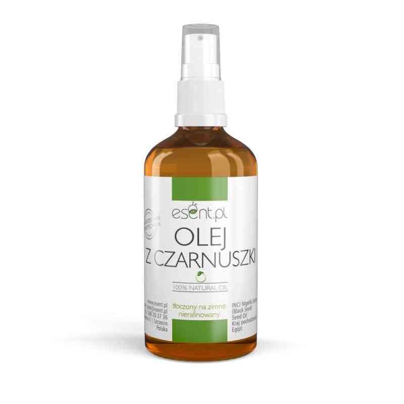 Olej z CZARNUSZKI nierafinowany, tłoczony na zimno 50ml Esent