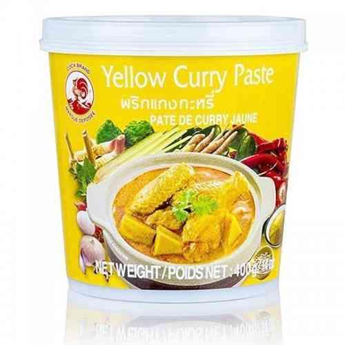 Pasta curry ŻÓŁTA 400g Cock