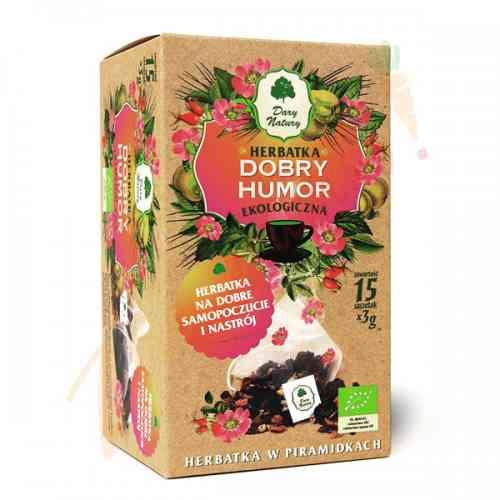 Herbatka DOBRY HUMOR ekologiczna 15x3g Dary Natury