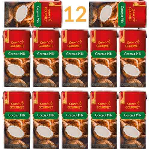 Mleko kokosowe bez konserwantów 12l Orient Gourmet