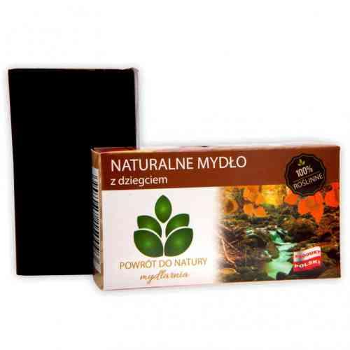 Roślinne mydło z DZIEGCIEM 100g Powrót do Natury