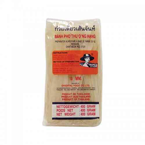 Makaron ryżowy 10mm bez glutenu 400g Farmer