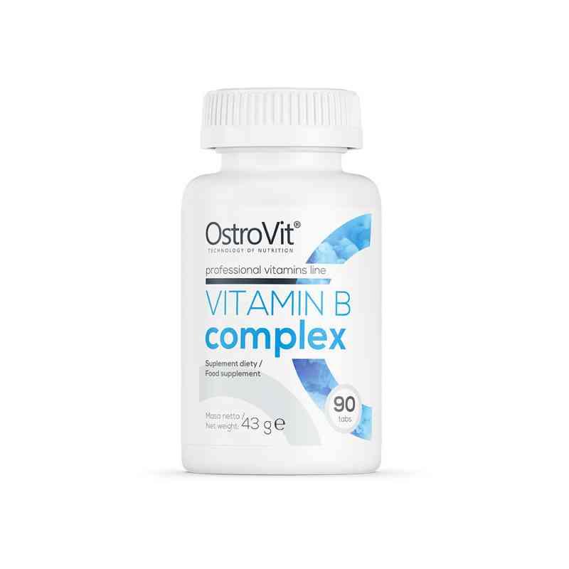 B-Complex Kompleks witamin z grupy B 90 tab. OstroVit