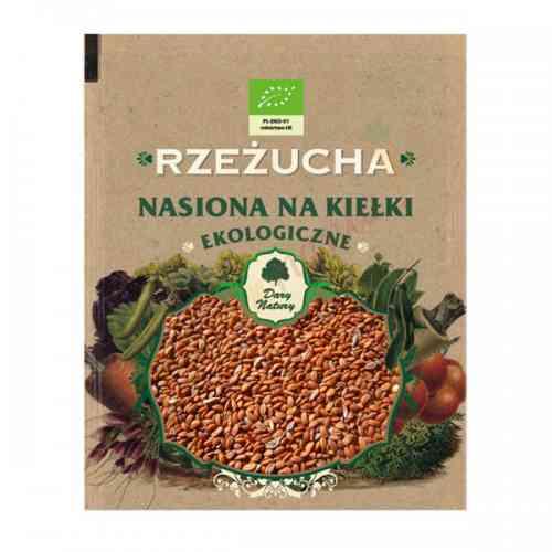 Rzeżucha - ekologiczne nasiona na kiełki 30g