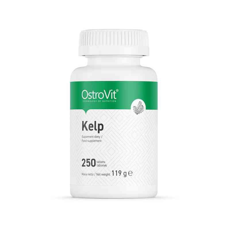 KELP naturalne źródło jodu 250 tab. OstroVit