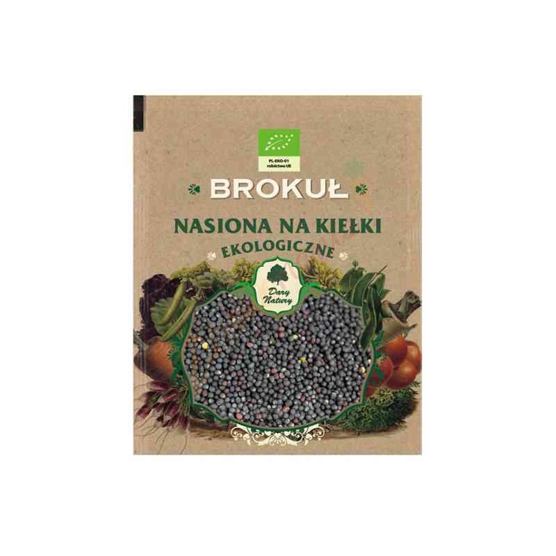 Brokuł - ekologiczne nasiona na kiełki 30g